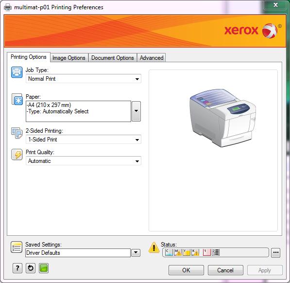 ETH - D-MATL - Xerox Printers